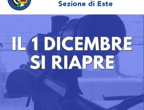 Indicazioni generali riapertura 01/12/2020